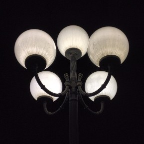 Streetlamp of Pioneer Square